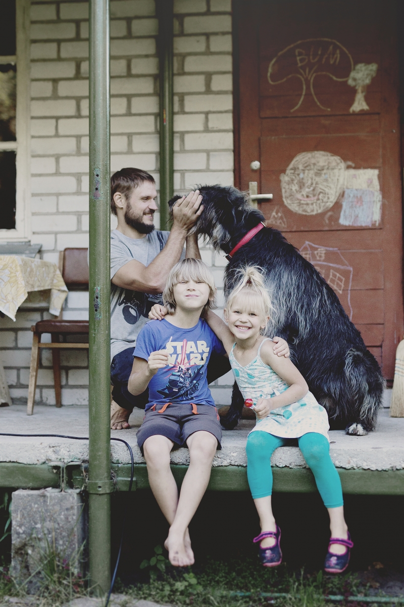 Šeimos istorijos: Artūras, Jūratė, Aras ir Unė