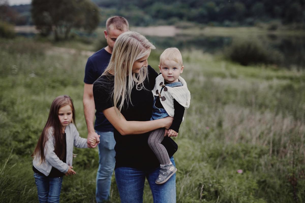 Family stories: Karolina, Vytis, Nikita & Mila